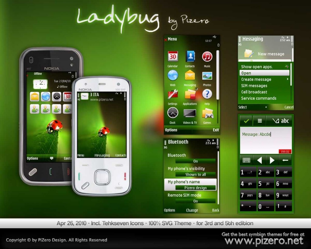 Nokia theme pizero symbian free download