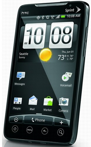 htc evo android
