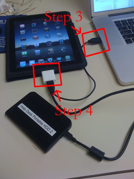 Spirit Jailbroken iPad: Mount External HFS or FAT32 Drive