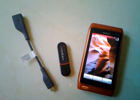 nokia n8 usb pen drive video