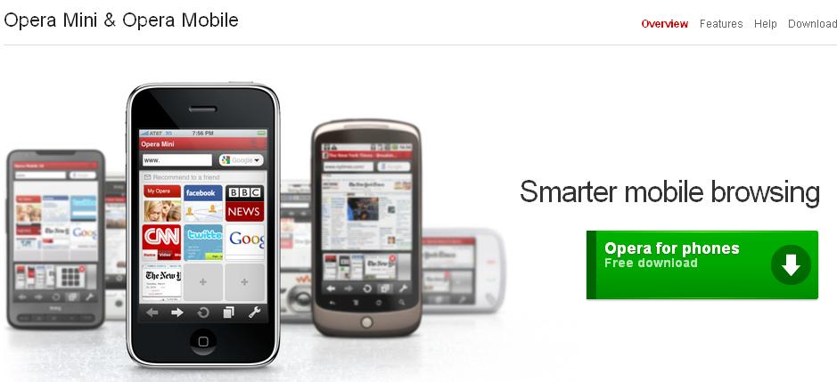 opera mini 5 download