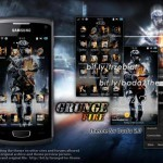 Tema / Theme gratis per Samsung Wave Bada 2.0 : Grunge Fire