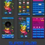 Theme per smartphone e cellulari Nokia Symbian : Colorful Play