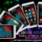 Symbian Theme : Colours out of Focus - Gratis per smartphone Symbian Anna / Symbian Belle