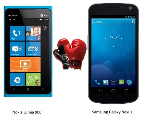 Nokia Lumia 900 Vs. Samsung Galaxy Nexus