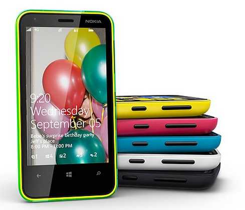 Nokia Lumia 620 video review