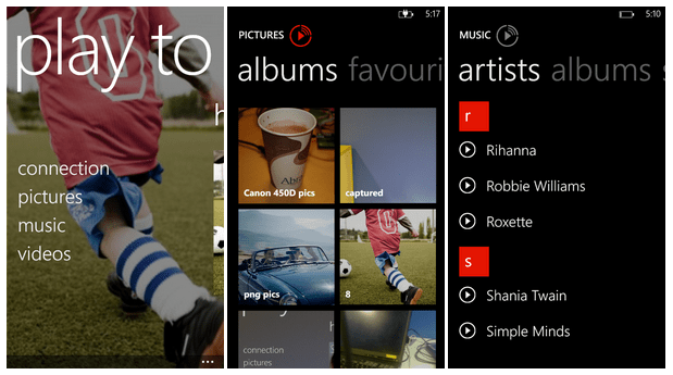 Nuova app Nokia Play to per windows Phone 8