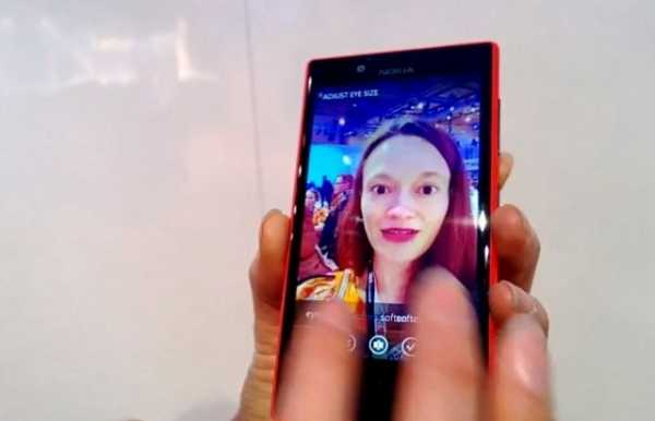 Nokia Lumia 720 video app Glam me in azione
