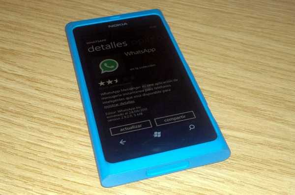 WhatsApp per Nokia Lumia Windows Phone 7 e 8
