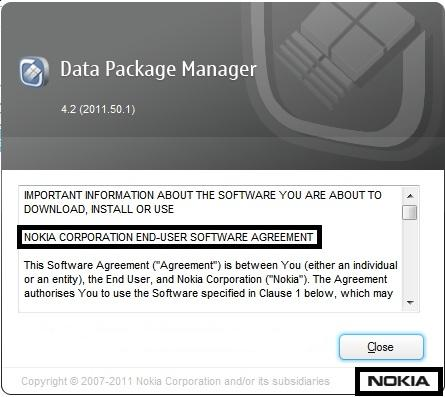 download Nokia Data Package Manager 2013