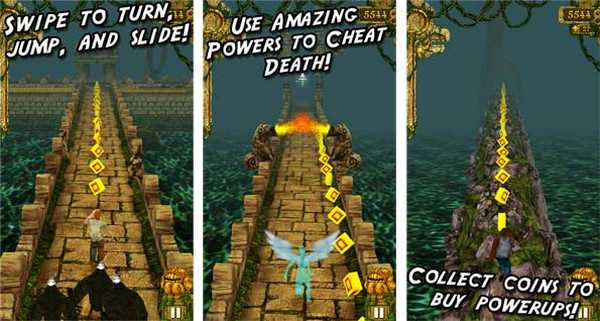 Temple Run per Windows Phone 8 Nokia Lumia 920 e Lumia 820