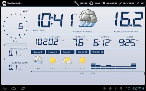 Weather Station Stazione meteo professionale apk