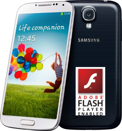 Flash Player su Galaxy S4