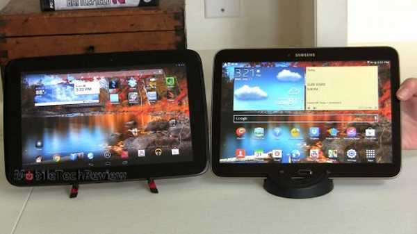 Galaxy Tab 3 10.1 e Google Nexus 10 a confronto in un video