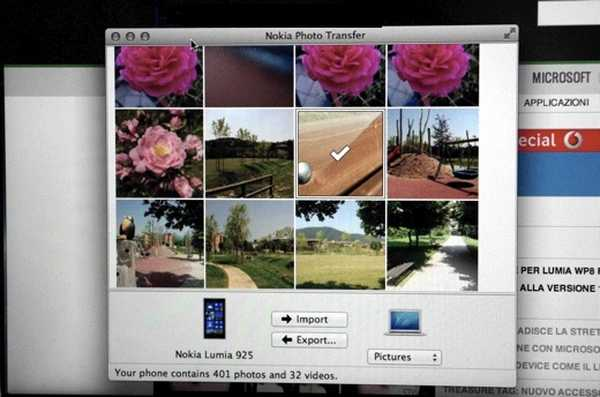 Nokia Photo Transfer Come Transferire foto e video tra Lumia e Mac