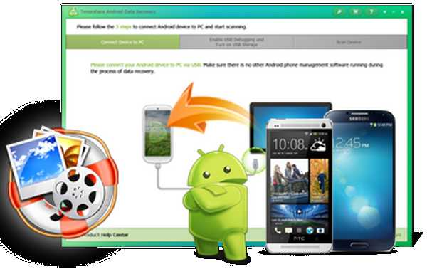 Come recuperare SMS foto e i video cancellati su Smartphone e Tablet Android