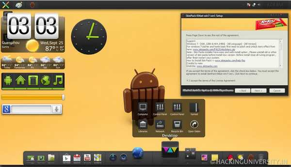 Come trasformare Windows in Android 4.4 Kitkat