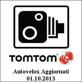 TomTom Autovelox Aggiornati al 01.10.13 download