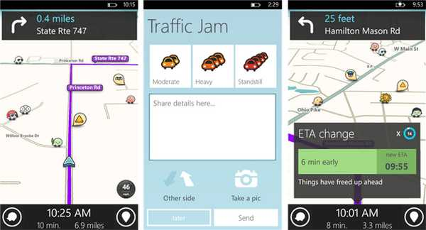 Waze per Nokia Lumia WP8 Download e Go !