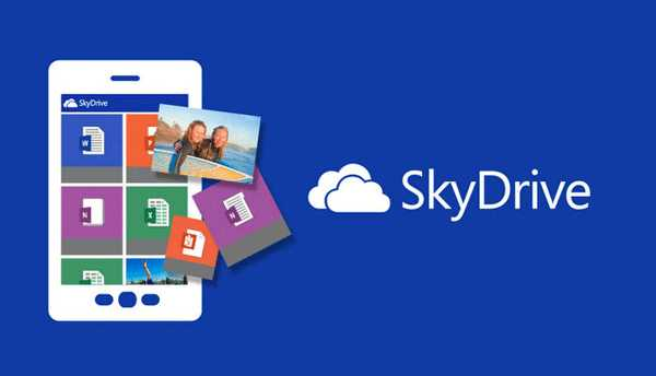 Windows Phone Nokia Lumia SkyDrive con 20GB di spazio libero su SkyDrive