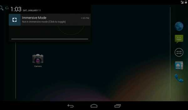 App in Full screen senza root Android KitKat Full-Screen Mode