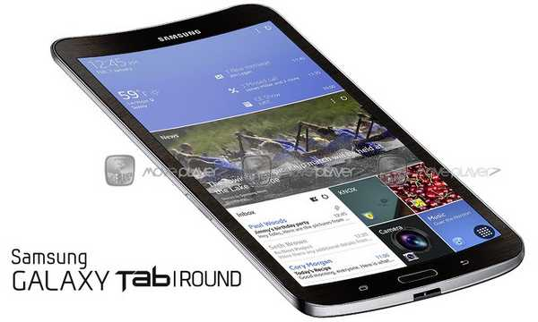 Galaxy Tab Round il primo Tablet Samsung con Display Flessibile