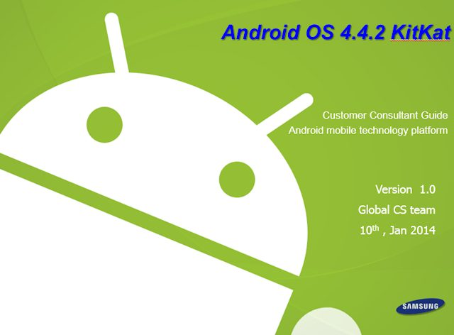 Manuale Android 4.4.2 per Galaxy Note 3 Download PDF