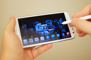 Guida Galaxy Note 2 come fare lo screenshot foto del display
