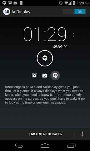 Notifiche a Display Spento su Android ecco come fare