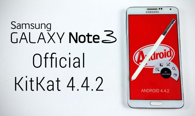 Aggiornamento Galaxy Note 3 Android KitKat 4.4.2 N9005XXUENB3