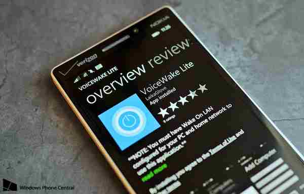 Nokia Lumia come accendere il PC da remoto con Cortana e VoiceWake Windows Phone 8.1