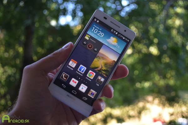 Huawei Ascend P7 Come fare uno screenshot o fare una foto al display
