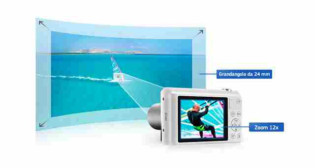 Samsung Smart Camera WB35F Manuale Italiano e libretto d'uso Pdf