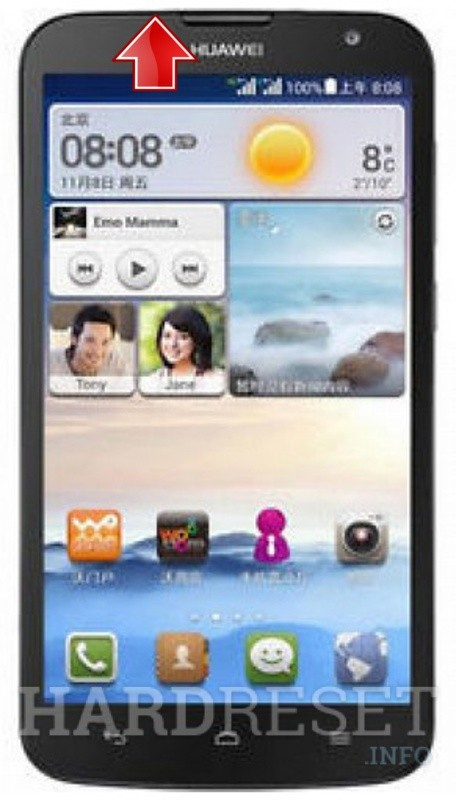 Hard Reset HUAWEI Ascend G730