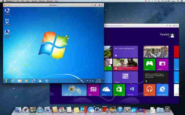 Windows su Mac senza riavviare due sistemi operativi su MAC