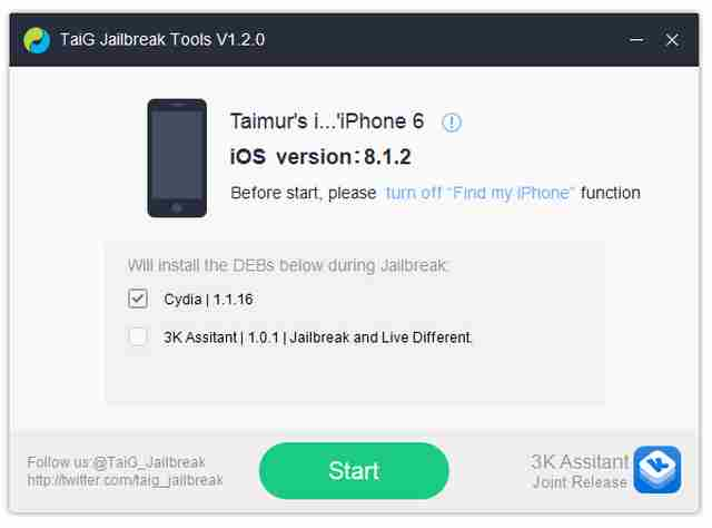Come fare il Jailbreak iOS 8.1.2 su iPhone 6 e Iphone 6 Plus. La guida dettagliata e il download della app. Jailbreak compatibile con iPhone 6 Plus, iPhone 6, iPhone 5s, iPhone 5c, iPhone 5, iPhone 4s, iPad Air 2, iPad Air, iPad 4, iPad 3, iPad 2, iPad Mini 3, iPad Mini 2, iPad Mini, iPod Touch 5