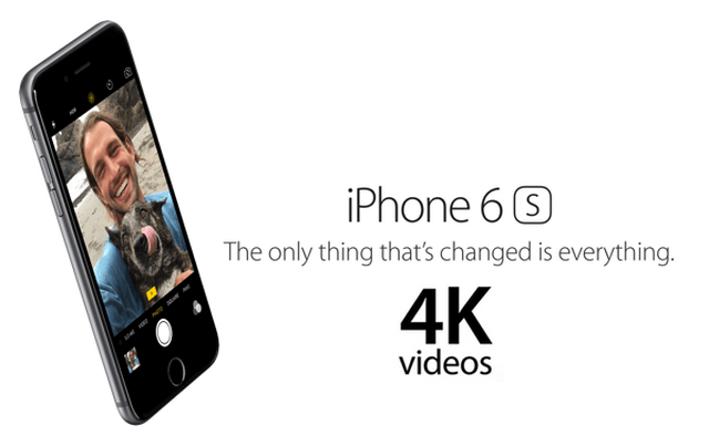 Iphone 6S Come registrare video 4K abilitare funzione con iOS 9