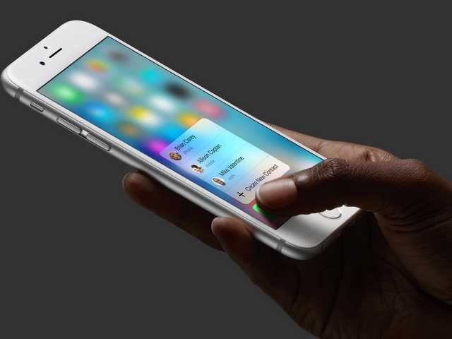 iPhone 6S come modificare la sensibilità del Touchscreen 3D