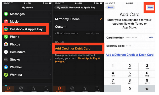 Come impostare e usare Apple Pay su Apple Watch