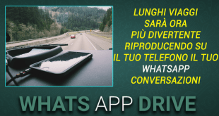 WhatsDrive vivavoce Whatsapp