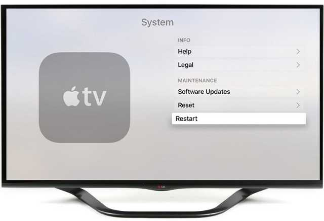 Apple Tv bloccata come fare il riavvio forzato