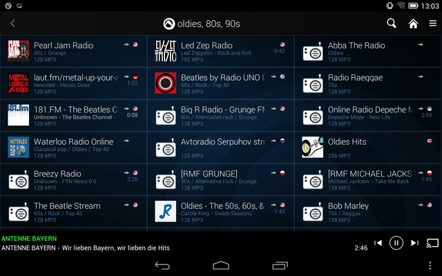 App Ascoltare e registrare musica mp3 dalla Radio