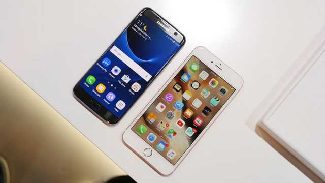 Galaxy S7 Edge VS iPhone 6S Plus test Coca-Cola Freeze 9 Ore chi sopravvive ?!