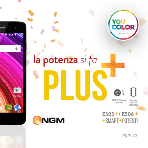 NGM You ColorE505 PLUS
