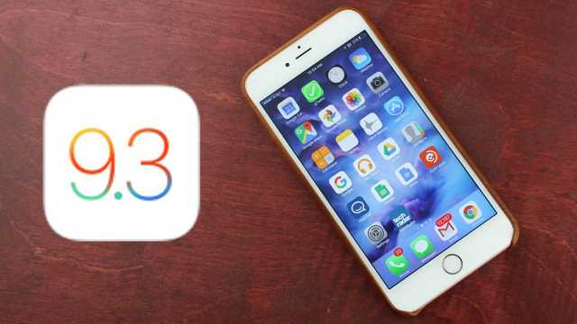 iOS 9.3 impossibile fare il Downgrade