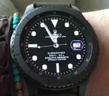 how to make a samsung watch face