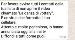 Whatsapp Video danza di vottary