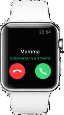 Apple Watch come fare una telefonata