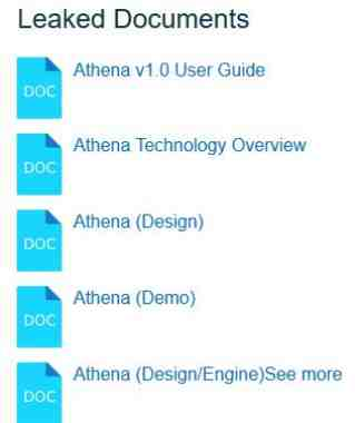 Athena malware Windows 10 manuale Pdf