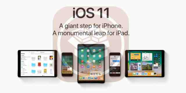 iOS 11 i dispositivi Apple iPhone iPad iPod compatibili